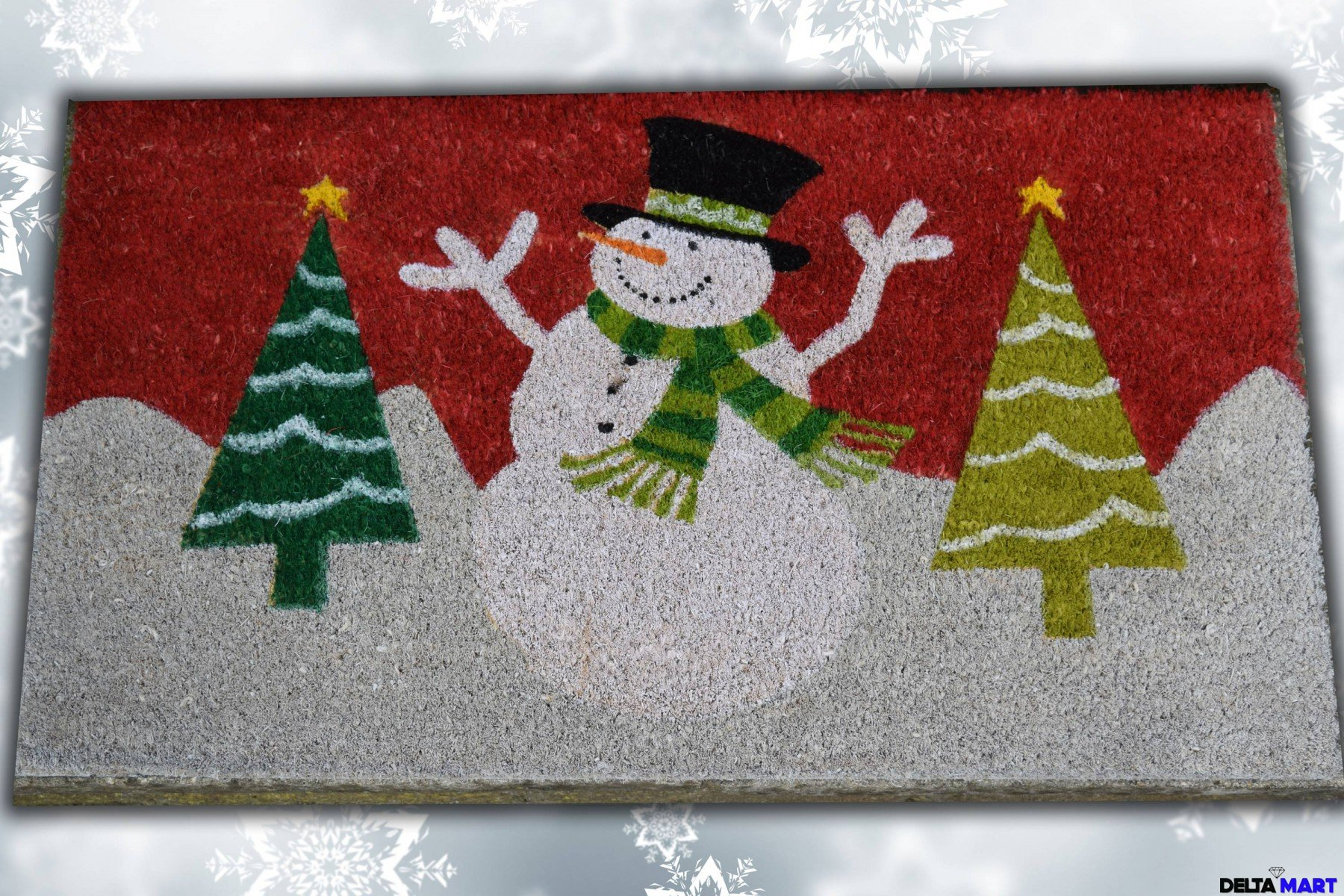 Christmas Season Welcome Mat