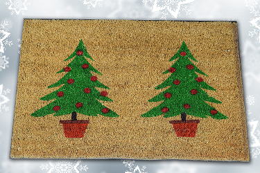 Christmas Season Welcome Mats