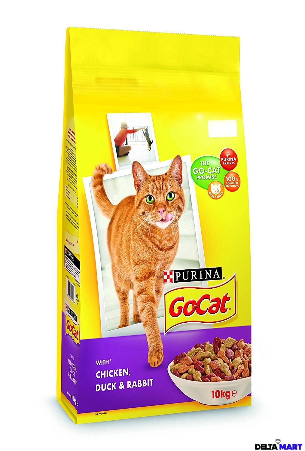 Purina Go Cat Chicken Duck