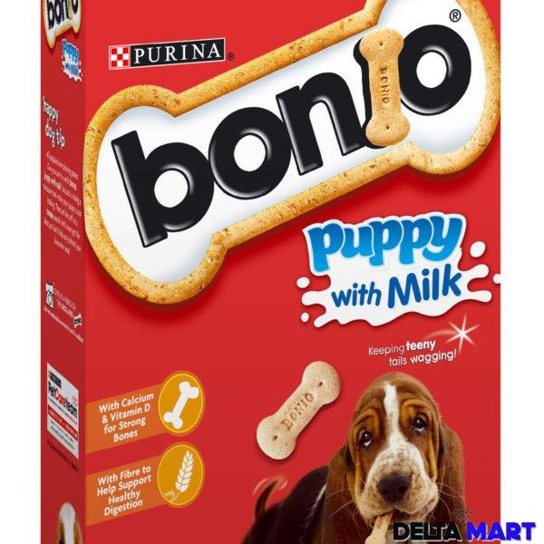Purina Bonio Puppy Milk Dog Biscuits Deltamart Rubber