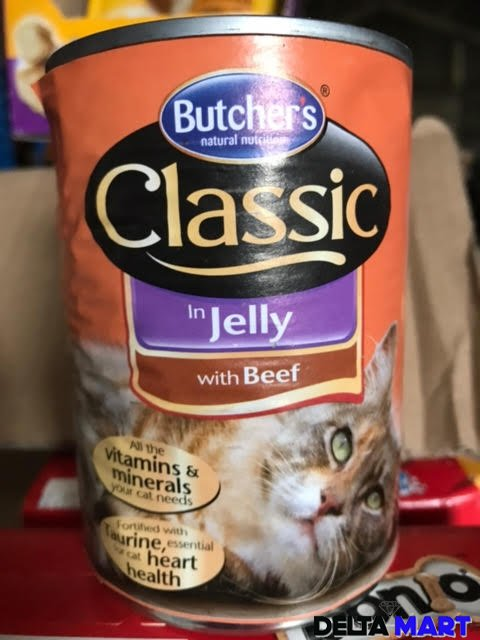 Butchers Natural Nutrition Classic Jelly Beef
