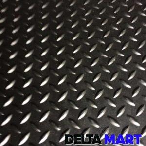 Plain Rubber Sheet Checkered Design