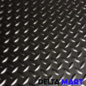 Plain Rubber Sheet Checkered Design