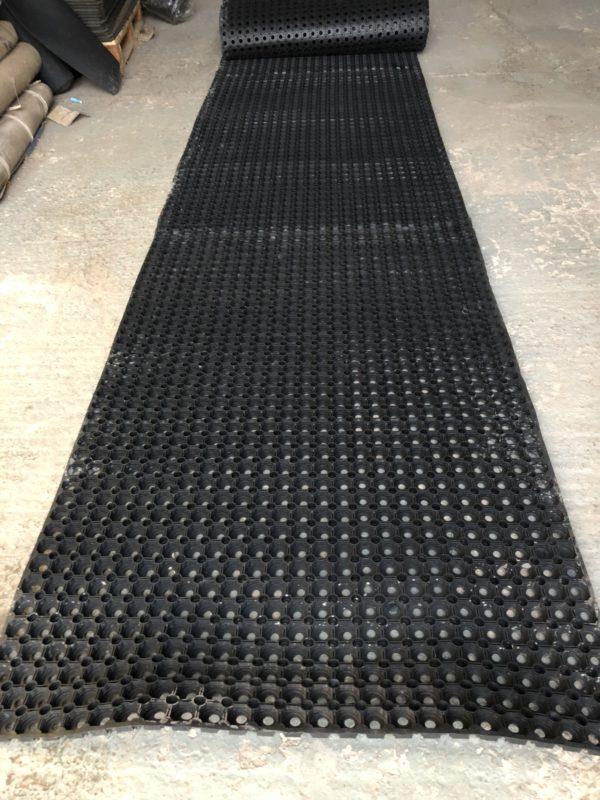 Grass mat long run