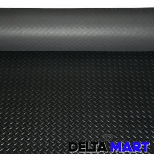 Checker Plate Black Rubber Matting