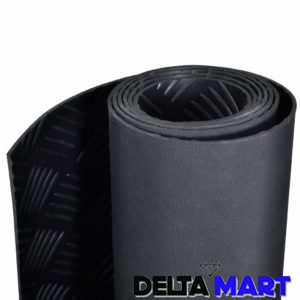 Checker Plate Rubber Garage Flooring Matting