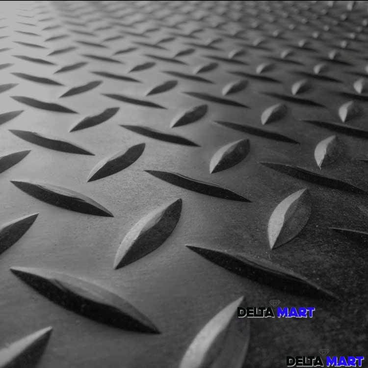 Diamond Plate Roll Rubber Matting