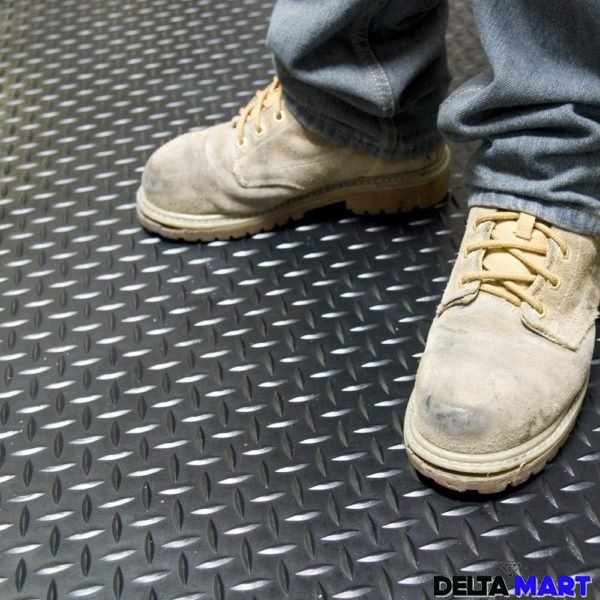 Diamond Plate Rubber Flooring Rolls Rubber Stable Mats