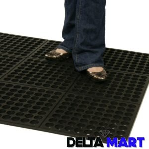 Interlock Rubber Kitchen Mats (2)