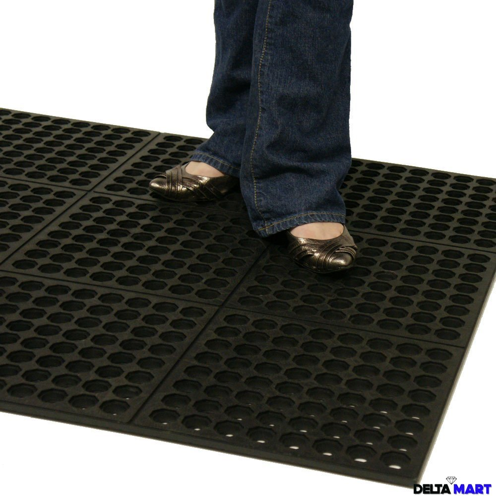 Anti Fatigue Rubber Mat 4 X3 X14 Mm Industrial Mats