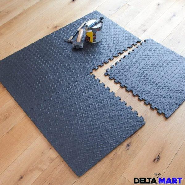 Interlocking Gym Garage Anti Fatigue Flooring Play Mats