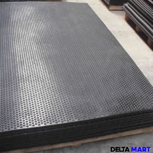 4 pack 6 x 4ft Ameobic Horse Stable Matting18mm Thick MatHeavy Duty Rubber