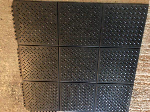 Checker interlocking Gym Mats