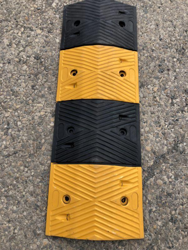 Rubber Speed Bumps 1000mm X 350mm X 50mm