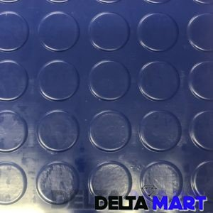 PVC Rubber Sheet Coin Top Design In Blue Colour