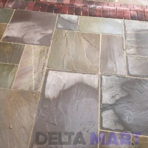 Raj Green Mix Patio Pack Stone
